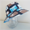 Boys summer hat in bright camera fabrics