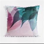 Blossom II Print Pom Pom Cushion Cover