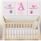 Custom Baby Name Print Set of 3 Announcement Nursery Wall Art