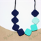 FREE SHIPPING:Silicone Nursing Teething Necklace, BPA Free - Sugar Cube Necklace