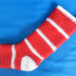 Santa Stocking - Small