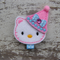 "2"" Felt Hello Kitty Birthday Clip"