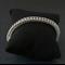 Silver bridal bracelet. Sterling silver chainmaille bracelet. Women's bracelet.