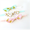 Knot Bow Headband Set - Glitz Fabric - Peach Pink Mint Gold White - Velvet