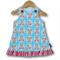 SIZE 0 Aqua Mice Baby Aline Dress
