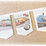 Boco the Diseasel Bunting Thomas the Tank Engine Wall Hanging Trains Children