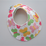 DRIBBLE BIB -Spring butterflies Buy 3 get the 4th Free - pretty design