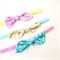 Knot Bow Headbands- Tropical - Banana Flamingo Polka Dots -Pink Yellow Turquoise