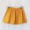 Size 2 - Girls Skirt - Orange Circles