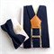 Navy Braces and Bow Tie Set