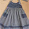 Sailor Halterneck Dress - Navy / White