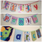 """5-letter-name"" bunting banner flag decorations (custom orders, one-of-a-kind)"