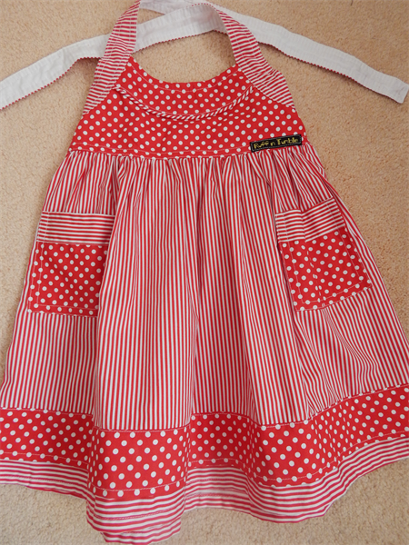 Sailor Halterneck Dress - Red / White