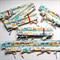Cot Top Rail Teething Protectors - FULL SET of 4 Protectors