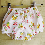 Pretty Vintage Floral Fabric Bloomers.