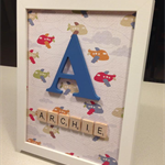 Personalised Boys Gift Frame