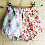 Eclectic fabric Bloomers.