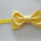 Classic Yellow bow stretch headband