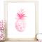 Pineapple Watercolour Art Print in A4 Size