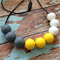 Silicone GumBall Teething Necklace | Chew Jewellery | Sensory Aid | Baby Nursing