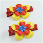 AFL Footy Hair Clips - Gold Coast