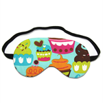 Blue Sugar Cupcakes Sleep Eye Mask