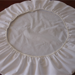 Bassinet Sheet ( Cocoon - Badger - Round )