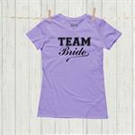 Hens party t shirt - Team Bride - size M