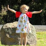 Christmas fairy Play dress for outdoor fun