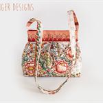 English Garden Hobo style handbag - One of a Kind