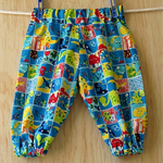Little boys dinosaur harem pants.