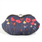 Eyeglasses case clutch purse - Poppy field at night - /sunglasses case/