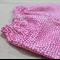 baby pants - pink confetti - white dots spots - nb 0-3 3-6 6-12 months