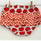 Red Apples Nappy Cover Frilled bloomers - Baby, Girl, Toddler, Newborn