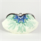 Eyeglasses case clutch purse - Sea flower - Ready to post!