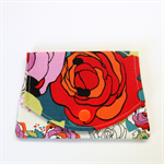 Pocket Purse - The Queen is the Red Rose.