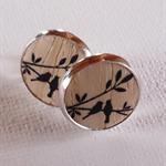 Gorgeous set of 'Birds in a tree' Earrings