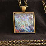Vincent van Gogh, Irises, Pendant