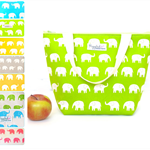 Insulated Tote Lunch Bag - Elephant (Choose Your Colour)