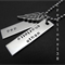 Personalised Any Names Angel Wing Dad Necklace Fathers Day Gifts For Him