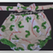 Lined nappy cover and double bow neck tie - The Very Hungry Caterpillar