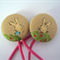 Hair Ties With Bunny Rabbits