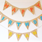 Personalised Hessian Bunting with Felt Lettering