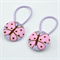 Butterfly Button Hair Ties