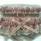 Wedding Garter Set  personalised Dusty Rose satin and Ivory Lace with heart