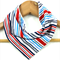 BARCODE STRIPES  Super-Absorbent 3-Layered bandana bib with Stay-Dry backing