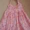 Floral Hearts Halterneck Dress