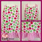 Size 3 Ruffled Pinafore style Dress