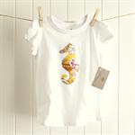 summer seahorse | applique design tee | size 3