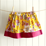 summer skirt set | seahorse tee | size 3 | tropical | SALE